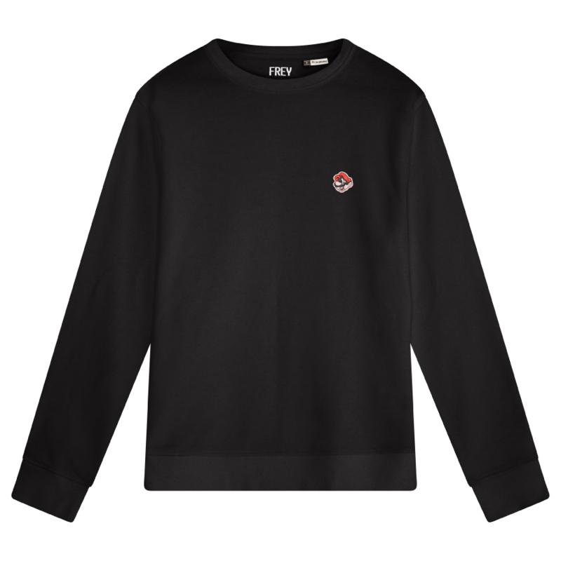 Mario Men's Sweater | Black