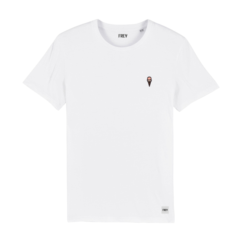 Ice Cream Tee | White