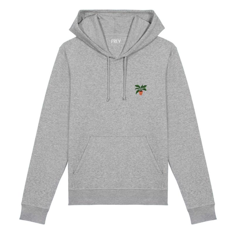 Plant Women's Hoodie | Grey Melee