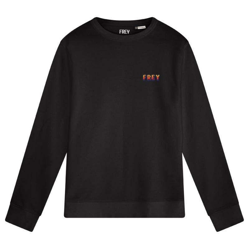 Pixel Logo Men's Sweater | Black