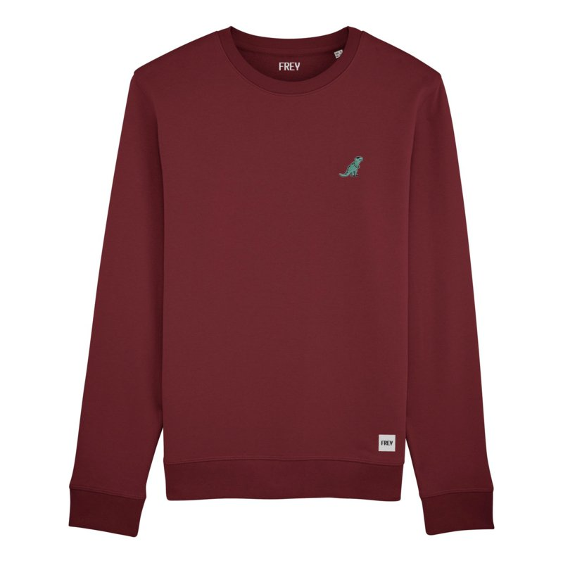 Dinosaur Sweat | Burgundy