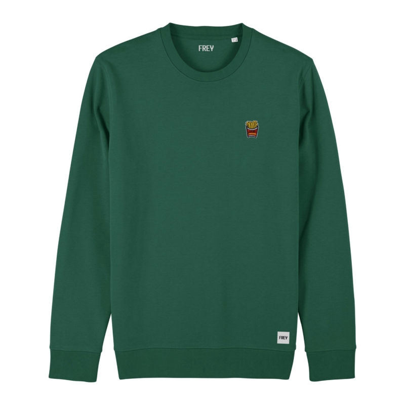 Fries Sweat | Bottle Green