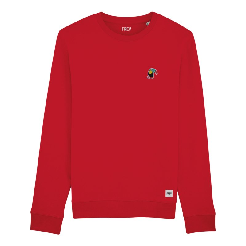 Toucan Sweat | Red