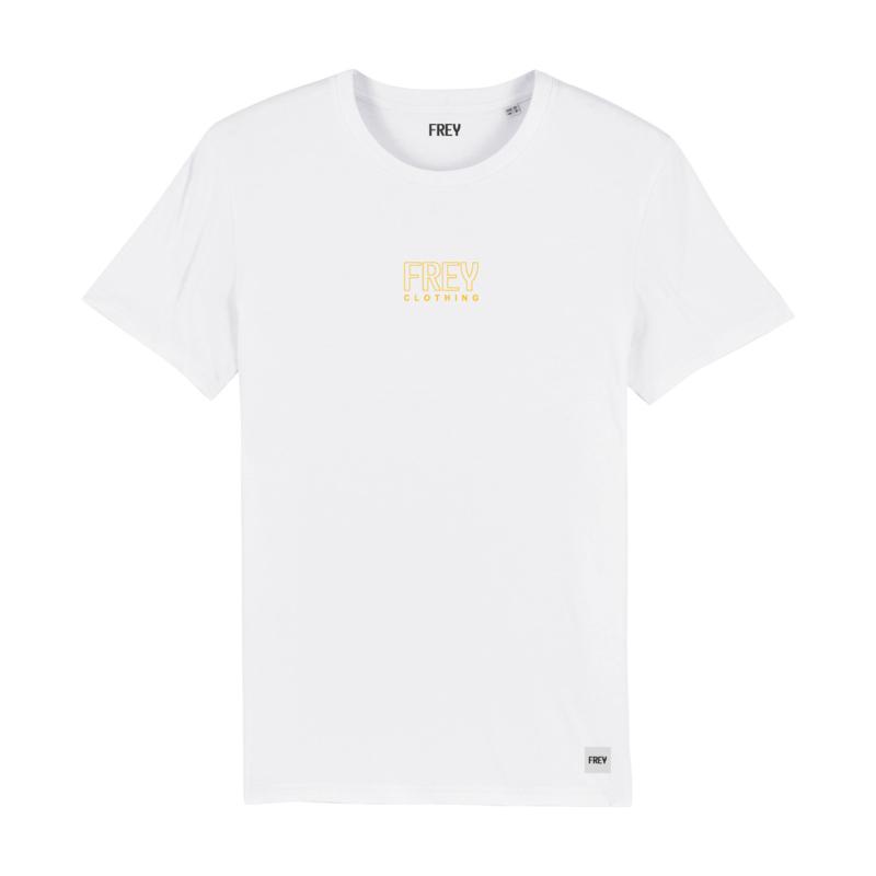 Open Logo Tee | White