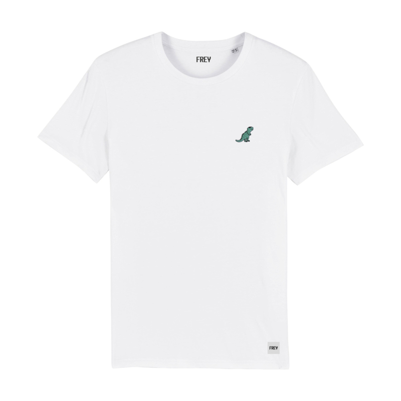 Dinosaur Tee | White