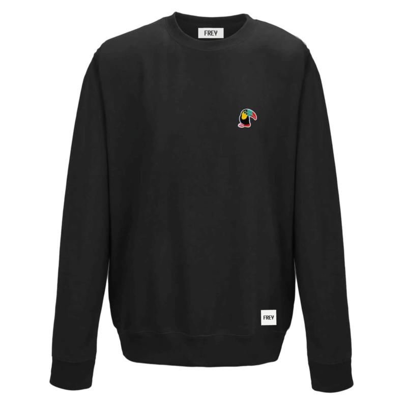 Toucan Sweat | Zwart