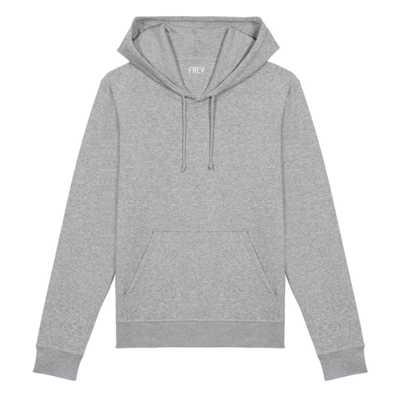 Basic Men's Hoodie | Grey Melee