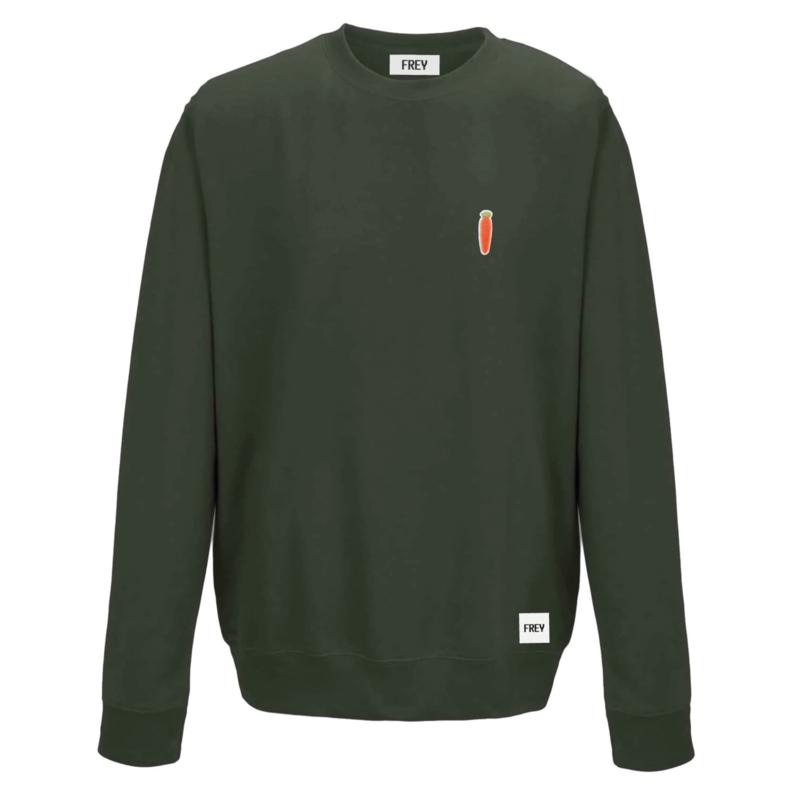 Carrot Sweat | Olijf Groen