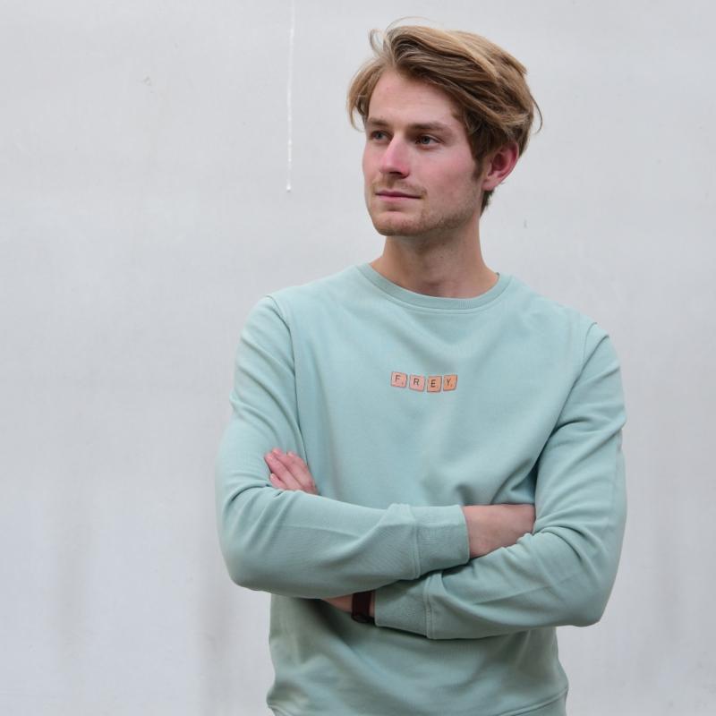 Scrabble Men's Sweater | Sage