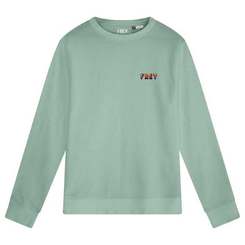 Pixel Logo Men's Sweater | Sage