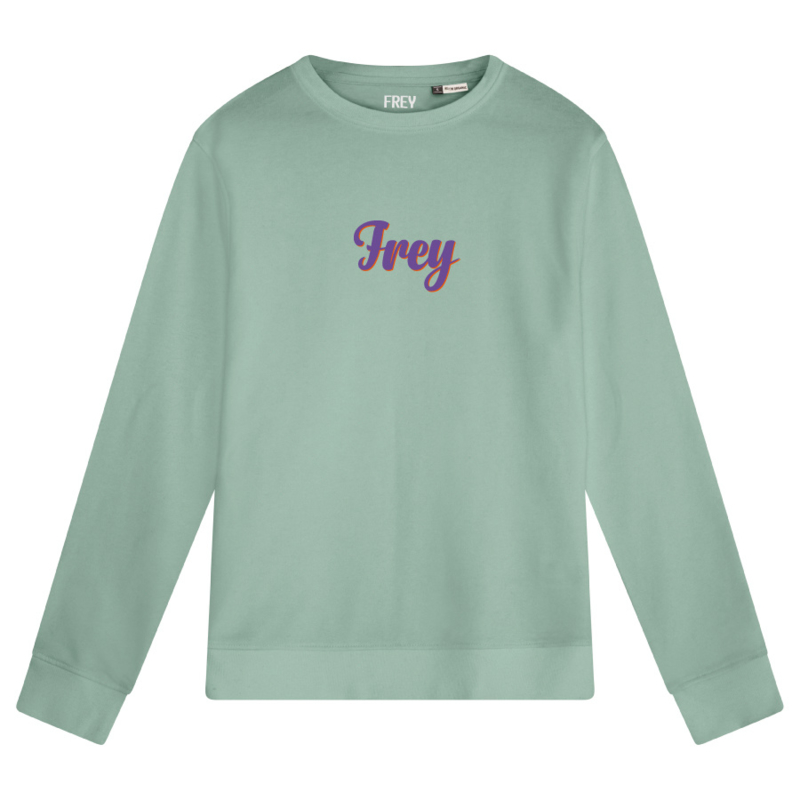 Handwriting Women's Sweater | Sage