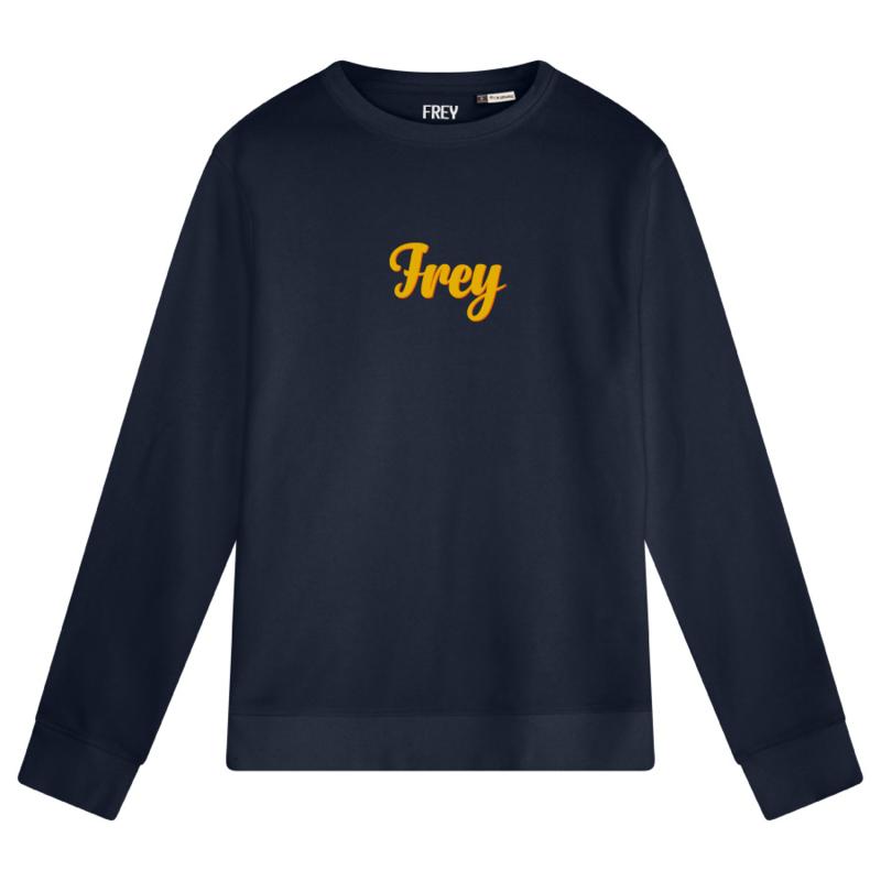 Handwriting Men's Sweater | Navy