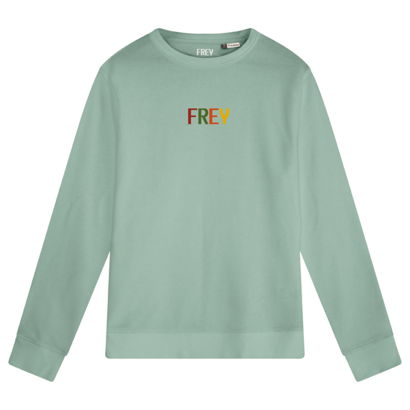 Colored Logo Women's Sweater | Sage