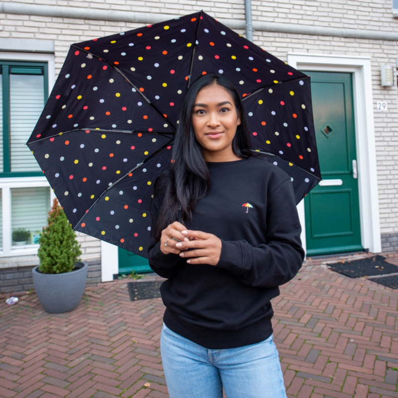 Umbrella Women's Sweater | Black