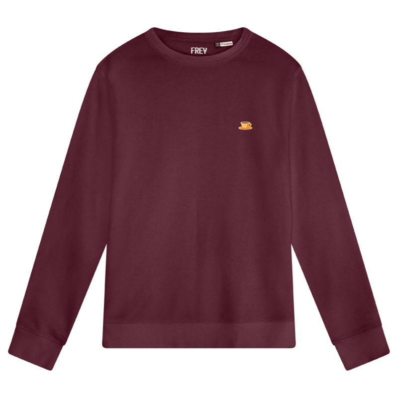 Coffee Women's Sweater | Burgundy