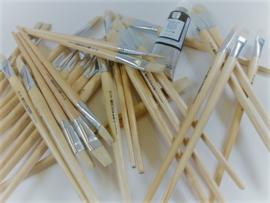 Penseel Varkenshaar 579L No10 (17mm) doos à 12 stuks