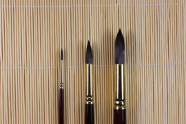 Penseel 1601 rond No1  3,1mm