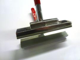 Aluminium spantang met veer. Bekbreedte 12cm