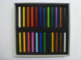"""Koh-I-Noor """"hard""""pastels (conté) set à 24 stuks"""