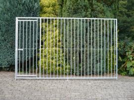 Kennel paneel 300x184cm deur links