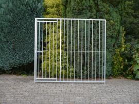 Kennel paneel 200x184cm deur links