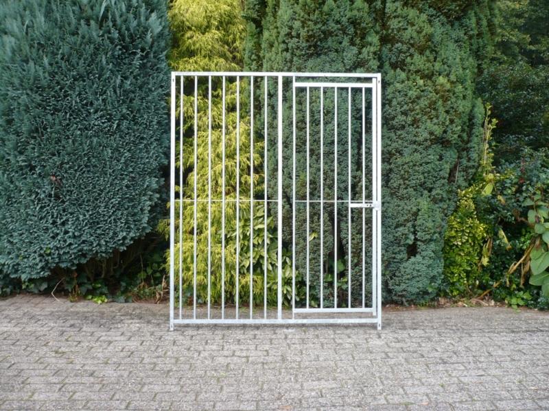 Kennel paneel 150x184cm deur rechts