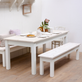 Jutters eettafel - Strandhout