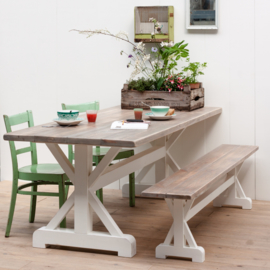 Klooster eettafel  - Old strand
