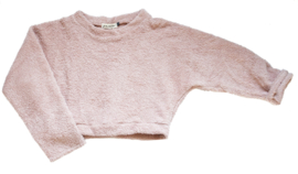"Cropped sweat ""Bubba"" old pink"