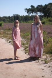 Summerdress Dahlia tiedye old pink