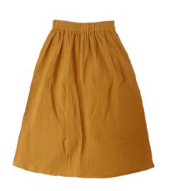 "Maxi-skirt ""Mara"" yellow ochre 134/140"