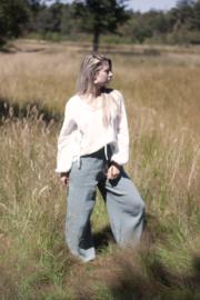 """Long wide pants """"Lonne"""" (W) dusty mint"""
