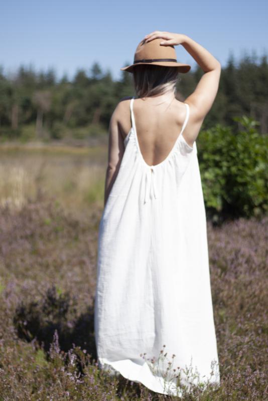 Summerdress Dahlia ecru