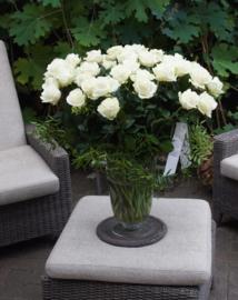 Vaas met rozen