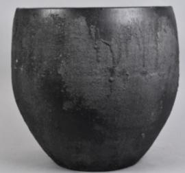 Pot Bali black 40 cm