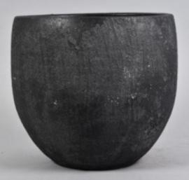 Pot Bali black 30 cm