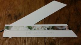 Rouwkaart 20 cm een laatste groet