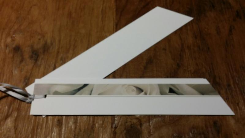 Rouwkaart 20 cm blanco