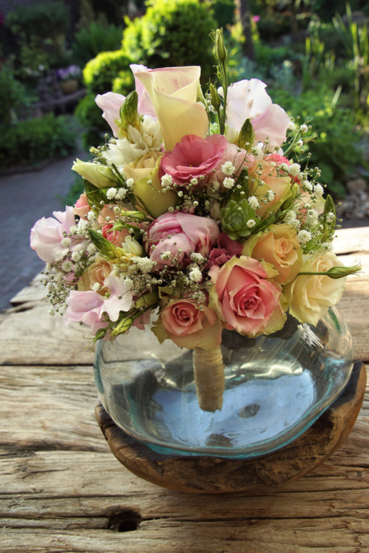 Biedemeijer pastel rose