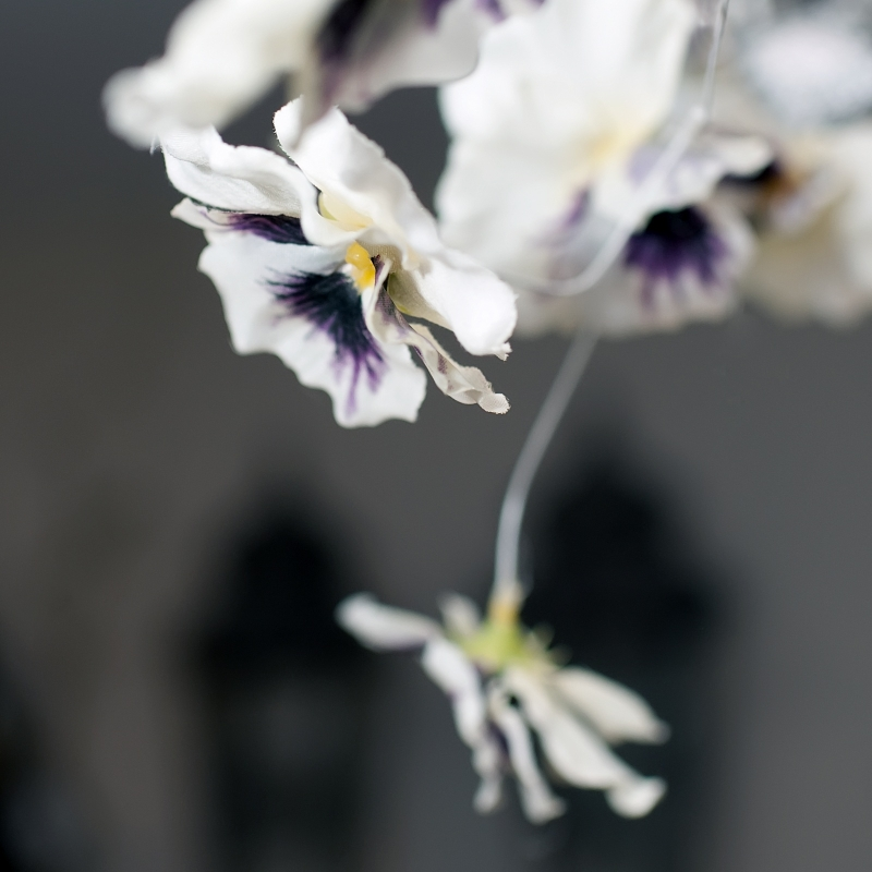 Bloemen betalen