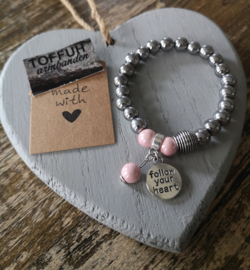 "Armband ""Follow your heart"""