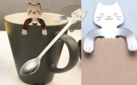 Koffielepeltje kat