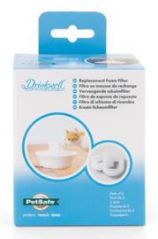 2 stuks schuim filter voor Drinkwell®  waterfontein