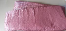 ligkussen - Poeder roze