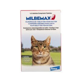 Milbemax volwassen kat    2  tabletten