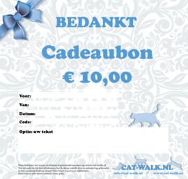 Cadeaubon per email (€ 10,00 / € 15,00 / € 25,00)