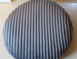 Klittenband kussen,  5 cm hoog, rond/ovaal/vierkant