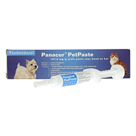 Panacur Pet Paste Injector 5gr (ook voor kittens)