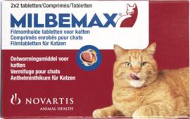 Milbemax volwassen kat   2 x 2  tabletten
