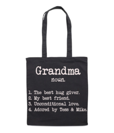 DICTIONARY BAG GRANDMA